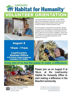 VolunteerOrientationPosterAugust